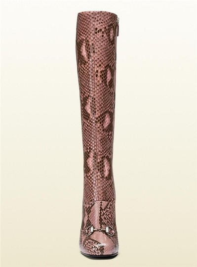 Gucci Pink/Brown Boots Image 3