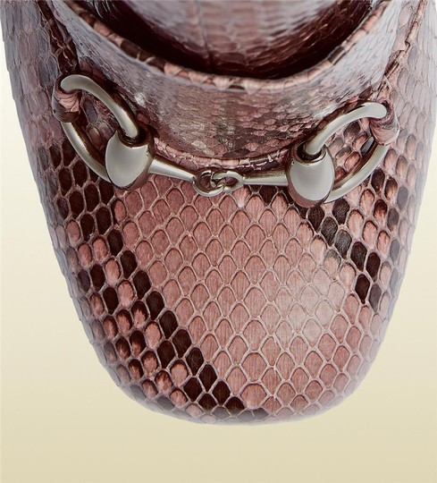Gucci Pink/Brown Boots Image 4