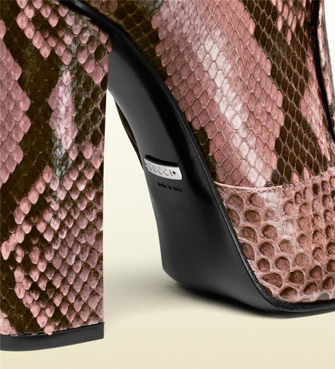 Gucci Pink/Brown Boots Image 6