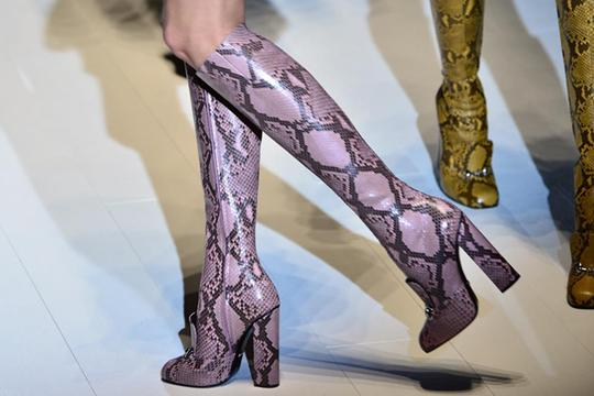 Gucci Pink/Brown Boots Image 7