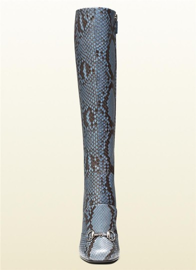Gucci Blue/Brown Boots Image 1