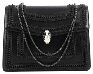 BVLGARI Leather Shoulder Bag