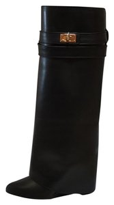 GIVENCHY Black Calf Boots