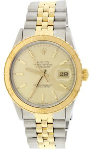 Rolex Rolex Datejust Thunderbird Turnograph 2-Tone Champagne Dial 36mm 16253