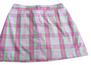 Lilly Pulitzer Pink Skirt pink plaid