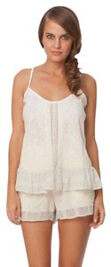 Gypsy05 Embroidered Tank Top Natural
