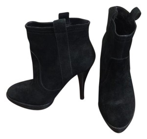 BCBGeneration Versatile Leather Casual Night Out Black Boots