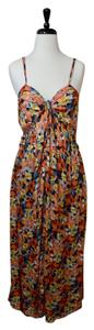 Multi-Color Maxi Dress by Free People Maxi Boho Floral