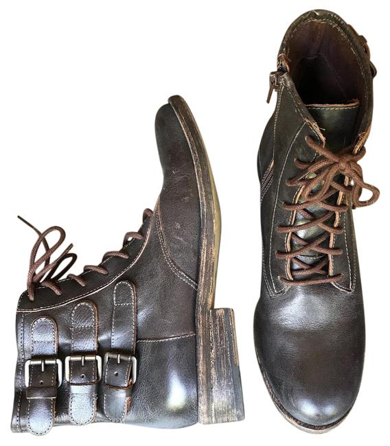 Item - Brown Johnny Lace-up Boots/Booties Size US 8.5 Regular (M, B)