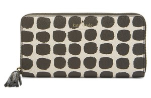 Kate Spade Kate Spade Spencer Court Painted Dot Lacey Zip Around Wallet