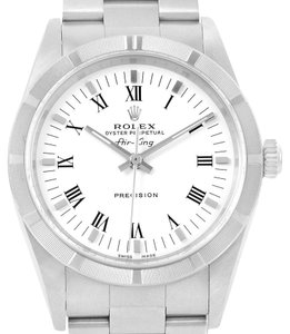 Rolex Rolex Air King White Dial Oyster Bracelet Automatic Watch 14010