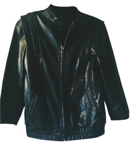 Loeffler Randall Leather Leather Jacket