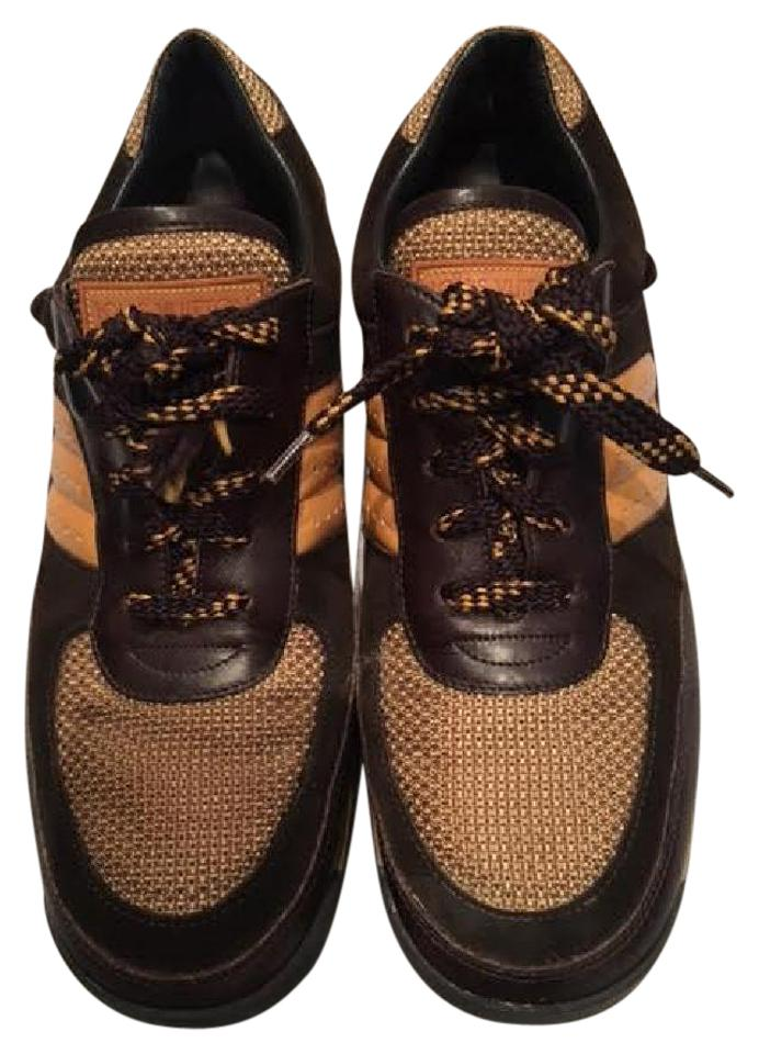 louis vuitton womens sneakers g0 0013 brown athletic shoes on sale 64 off athletic on sale. Black Bedroom Furniture Sets. Home Design Ideas