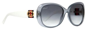 Gucci GUCCI GOLD GG LOGO BLUE WHITE SUNGLASSES GG 3644/S