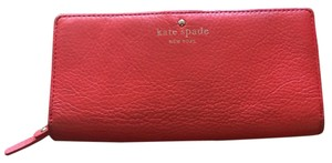 Kate Spade Kate Spade Red Leather Wallet