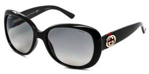 Gucci GUCCI POLARIZED BLACK GOLD GG LOGO SUNGLASSES GG 3644/S