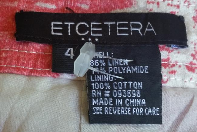 Etcetera Dress Shorts Red Image 3