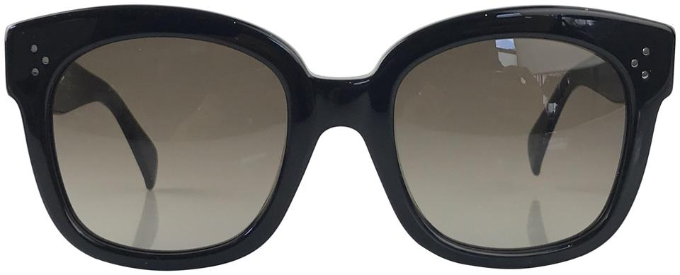fb67443e254 Céline Black New Audrey Sunglasses Image 0 ...