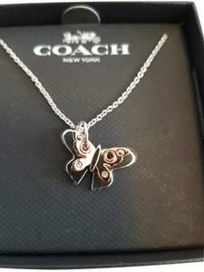 Coach Coach Butterfly Short Necklace