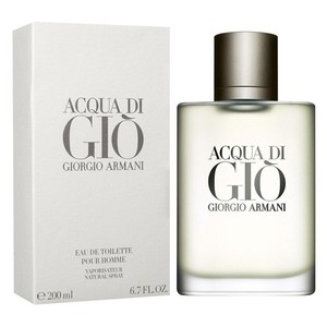 Giorgio Armani ACQUA DI GIO for Men 6.7oz/ 6.8oz /200 ml EDT Spray,New & Sealed.