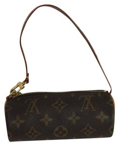 Louis Vuitton Papillion Micro-mini Mini Wristlet in Brown