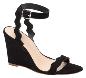 Loeffler Randall black Wedges