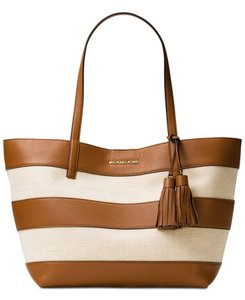 Michael Kors Tote in Natural/Acorn