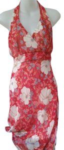 Blu Reed short dress Red Floral Pattern Party Summer Girls Night Out Date Night on Tradesy