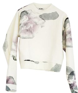 Acne Studios Floral Cotton Sweatshirt