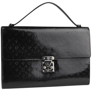 Louis Vuitton Lv Logo Neverfull Monogram Speedy Black Clutch