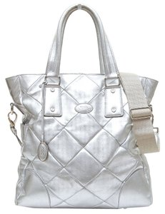Tod's Tote in Silver