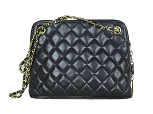 Chanel Lamb Leather Shoulder Bag