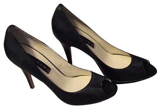 Steven by Steve Madden Black Pumps