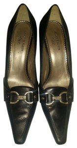 AK Anne Klein Business Chic Comfort Comfortable Padding Black Pumps