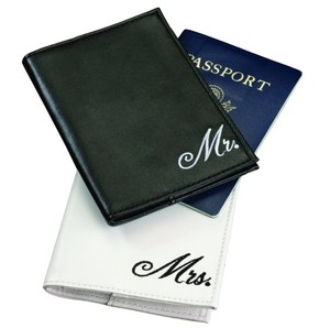 Mr And Mrs Passport Covers For Wedding Gift Suitable For Newlyweds