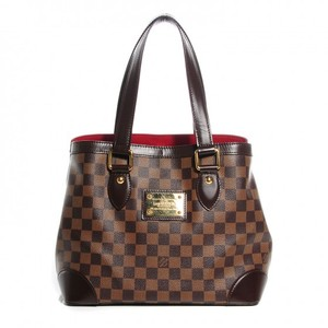 Louis Vuitton Damier Ebene Hampstead Pm Tote in brown