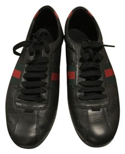 Gucci Sneaker Leather New Neverwear navy blue Flats