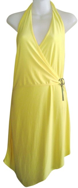 Preload https://img-static.tradesy.com/item/2138999/yellow-with-rhinestone-embelishment-date-night-party-girls-night-out-knee-length-cocktail-dress-size-0-0-650-650.jpg
