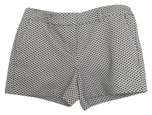 Ann Taylor LOFT Mini/Short Shorts Black and White