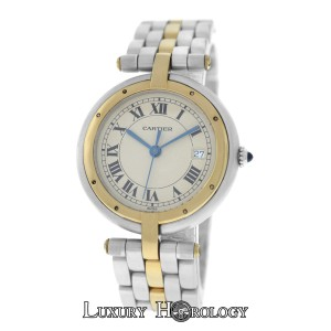 Cartier Lady's Cartier Panthere 183964 Vendome Cougar 1 Row 18K Gold 30mm