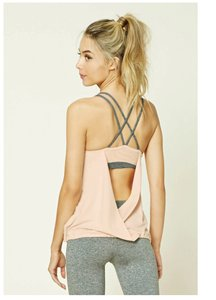 Forever 21 Forever 21 Active Twofer Sports Bra Top Size S NWT