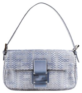 Fendi Hardware Leather Designer Baguette