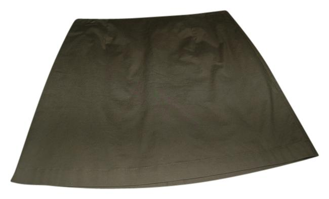 Gap Spring Summer Versitile Mini Skirt dark olive green