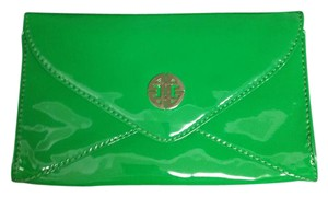 Antonio Melani Bright Patent Leather Summer Never Been Used Bright Green Clutch
