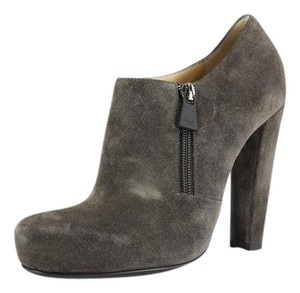 Emporio Armani Women Winter Fall Suede Brown Boots