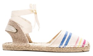 Soludos Espadrilles Stripes Striped Sandals Striped Espadrilles Multi Flats