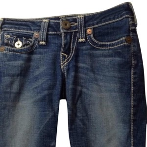 True Religion Bermuda Shorts Distressed denim