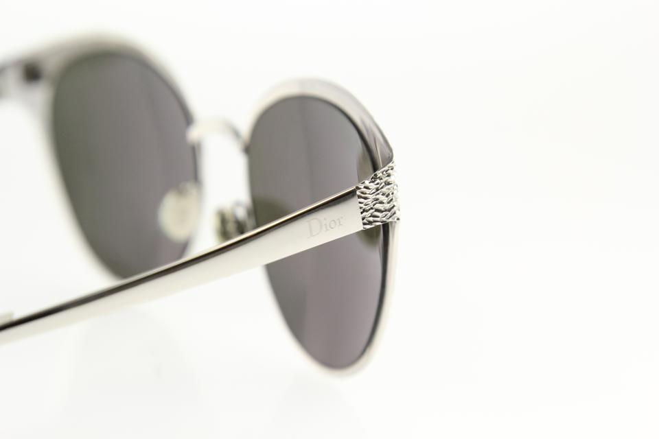 527be82cf0a Dior Unique Limited Edition Cat Eye Silver White Sunglasses Image 9.  12345678910