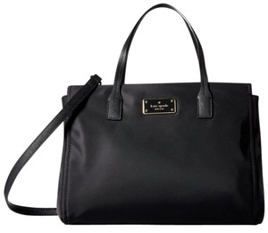 Kate Spade Nylon Satchel Handbag Cross Body Bag