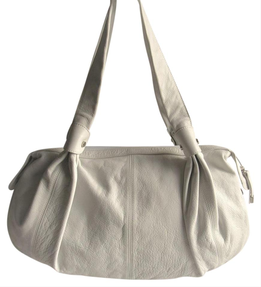 a0307b357a Gianni Chiarini Italy Large White Leather Shoulder Bag - Tradesy